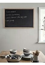 Useful and attractive with an elegant blonde oak frame, our wall hanging chalkboard is perfect for your kitchen or playroom. Handy for everything from doodles to shopping lists, it also makes a great gift. Please note that chalk pens c Nordic Furniture, Scandinavian Furniture, Small Furniture, Hanging Chalkboard, Framed Chalkboard, Luxury Kitchen Design, Luxury Kitchens, Home Office Accessories, Chalk Pens