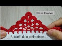 Crochet Edging Tutorial, Crochet Mandala Pattern, Crochet Borders, Crochet Lace, Crochet Patterns, Diy Fashion, Diy And Crafts, Crochet Necklace, Handmade