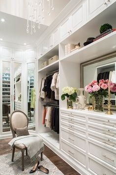 Sunset Plaza - traditional - closet - los angeles - Smith Firestone Associates <3