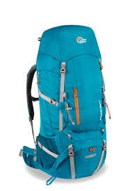 Lowe Alpine Elbrus ND Backpack has a refined back panel, harness and hip belt designed specifically for women.