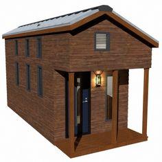 mcg loft tiny house 01   The McG Tiny House with Staircase Loft: Photos, Video and Plans