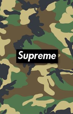 Supreme Camouflage, iPhone case available on redbubble.com