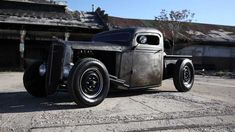 1936 Chevy Bare Metal Chopped Pickup Truck. Music by Ugly Valley Boys of Salt Lake City Utah.
