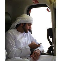 Hamdan MRM, regreso a Dubái, 14/03/2014. Vía: alketbi71