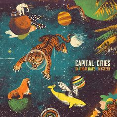Kangaroo Court Capital Cities From the Album In A Tidal Wave Of Mystery (Deluxe Edition) Capital Cities Band, Capital City, Mystery, Kangaroo Court, Pochette Cd, Vegito Y Gogeta, The Wombats, Branding, Star Stickers