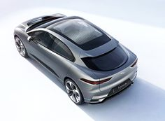 I-PACE concept previews jaguar's first-ever electric vehicle