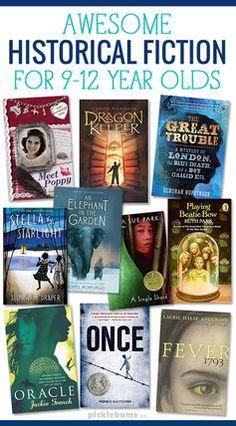 10 Historical Fiction Books for Tweens Ten Awesome historical fiction books for tweens Books For Tweens, Books For Boys, Childrens Books, Tween Books, Books For Children, Teen Girl Books, Middle School Books, Middle School Libraries, Kids Reading