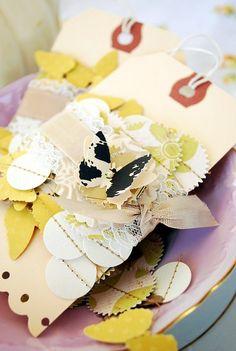 sweet november paper garland : Tara Anderson