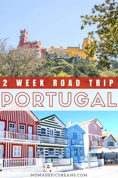 Are you planning a road trip through Portugal? We've compiled a complete 2-week itinerary for your Portugal road trip, including Lisbon, Coimbra, Porto, the Douro Valley, and much more! We've also included some practical tips for renting a car in Portugal and driving in Portugal. #travel #portugal #roadtrip