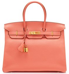 Hermes Birkin, can't afford one but it makes me happy to look at