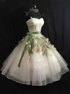 1950's Prom Gown