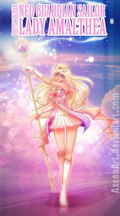 Character from The Last Unicorn Neo Sailor Lady Amalthea Sailor Moon Girls, Sailor Moom, Sailor Moon Fan Art, Sailor Moon Character, Sailor Moon Manga, Sailor Moon Crystal, Sailor Venus, Sailor Princess, Moon Princess