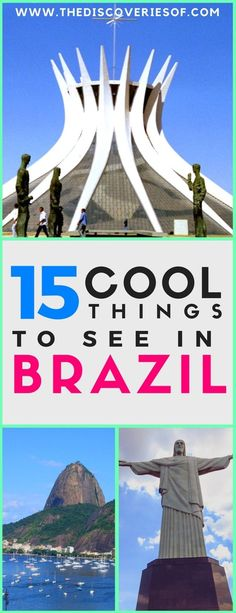 Brazil! The hottest travel destination of the year and for good reason. Rainforest, Rio, the Amazon, Carnival: Brazil has it all. Immerse yourself in the culture of this vibrant country with our guide to the best things to do in Brazil. Read now. #brazil #southamerica #travel