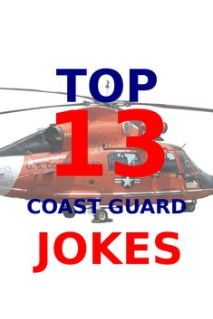 The coast guard is not often thought of as part of the military. Check out the top 13 coast guard jokes you should know. #coastguard Coast Guard Rescue, Coast Guard Ships, Coast Guard Stations, Bermuda Triangle, Top List, North Sea, Tarot Decks, Karate, Chevrolet Logo