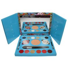 Ed Hardy Christian Audigier Makeup Palette at Savings off Retail! Geisha Makeup, Christian Audigier, Makeup Set, Makeup Palette, Gifts For Her, Decorative Boxes, Make Up, Cosmetics, Business Products