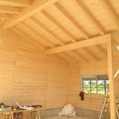 CARVICO (BG) - Lavori di nuova costruzione in legno massiccio NUR-HOLZ