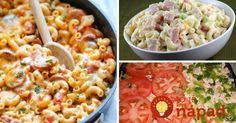 Cestoviny sú veľmi vďačnou potravinou, predovšetkým vtedy, ak potrebujte rýchlo uvariť niečo chutné pre celú rodinu. Prinášame vám 7 najobľúbenejších tipov na chutnú večeru alebo rýchly obed, ktoré vyčarujte z cestovín za pár minút. Macaroni And Cheese, Spaghetti, Good Food, Food And Drink, Pasta, Lunch, Treats, Ethnic Recipes, Bulgur