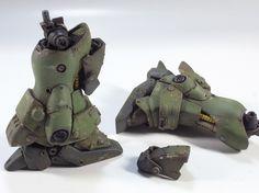 = AMS 119 Geara Doga. HG 1/144 Custom Build. 1st Prize WINNER Dengeki Hobby Gunpla 2011