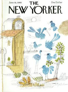 The New Yorker - Monday, June 16, 1980 - Issue # 2887 - Vol. 56 - N° 17 - Cover by : Joseph Low