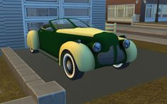 Mod The Sims - (updated):Classic Convertible (ownable cars comb)