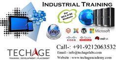 Live Project Based Industrial Training in NOida,Various technologies.Call for more details: +91-9212043532, +91-9212063532 Visit: http://www.techageacademy.com/courses/industrial-training