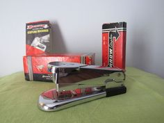 Vintage Arrow 105 Stapler Chrome Mid Century Modern Fastener in Box Staples | eBay