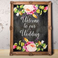 Hey, I found this really awesome Etsy listing at https://www.etsy.com/listing/270357797/welcome-to-our-wedding-digital-download