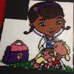 Dottie - Disney Doc McStuffins hama beads by minniefrancoeur