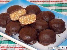 домашние конфеты с орехами