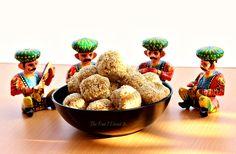 2 Ingredient recipe to make sesame seed & jaggery ladoos. #food #cooking #recipe #Indiansweet