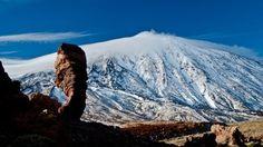 Foto de Roberto Porto, maravilloso El Teide nevado estos días...