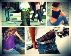 Fenomenologia della mutanda in vista. I pantaloni a vita bassa in Usa sono simbolo di sedizione, in Italia  s' indossano come strumento di seduzione