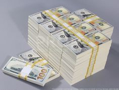 New Style $100s Blank Filler $500,000 Prop Money Package