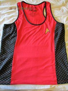 STAR TREK Women's Tank Top Shirt We Love Fine XL Extra Large Red  #WeLoveFine #TankCami #Cosplay#startrek #trekkie #womensfashion #geek #fanfiction #fantasyart #cool #retro#streetstyle