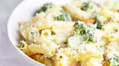 Cheesy Broccoli and Bacon Pasta Bake - Gerd Diet % acid reflux recipes in detail
