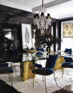 "Jackie Astier's decor featured at Elle Decor magazine ""brings her rock-and-roll spirit and a passion for high style to her family's Upper East Side apartment""."