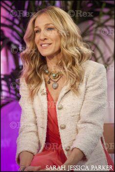Sarah Jessica Parker wearing House of Lavande necklaces