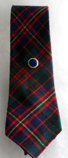 VINTAGE CAMERON of ERRACHT Tartan 100 Wool Tie  Made by BYGONERA, $20.00