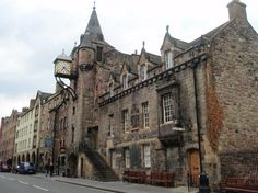 if in Edinburgh: Royal Mile; also check out 'ghost walk' underground tours...