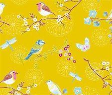 PIP Studio tapet - Early Bird, gul i metermål