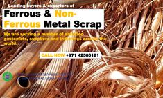 Al Sifah Metal Scrap Trading LLC is the UAE Top leading metal recycler, with operations encompassing the buying, processing and selling of ferrous and non ferrous recycled metals.