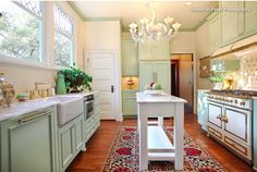 Don't have room in narrow kitchen for standard sized island?  Use a skinny island! http://www.houzz.com/ideabooks/75141289/list/gettin-skinny-in-the-kitchen-8-narrow-islands-with-big-function