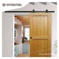 Intersteel Schuifdeursysteem Basic Top mat zwart Decor, Outdoor Decor, Garage Doors, Storage Cabinet, Tall Cabinet Storage, Home Decor, Storage, Doors, Barn Door