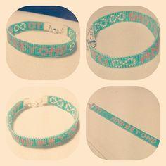 Beadalon, jewelloom, miyuki delica's, bracelet, DIY, infinity and beyond