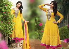 Marvelous Yellow Salwar Kameez | StylishKart.com