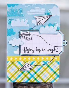 images lawn fawn flying by | Paper Lulu: Flying By to say Hi!