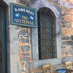 Greek Cafe (Kafenio) in Crete Crete Island, Greece Islands, Beautiful Islands, Beautiful Places, Greek Cafe, Beyond Blue, Coffee Places, Crete Greece, How To Show Love