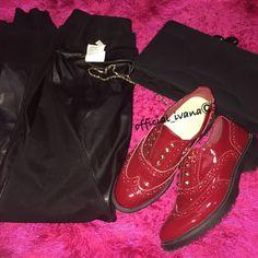 Good Night by www.ivanavitabile.com #shoes #bag #leggings #pinko #disney #black #red