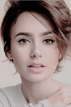 Lily Collins Source — Newpicturesof Lily Collins for Lancome.