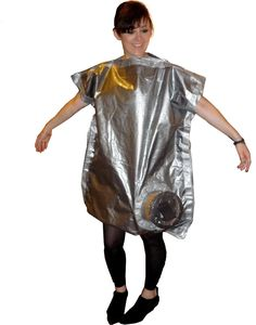 From Duct Tape, a tarpaulin, cardboard and a cask of wine. I became a giant GOONBAG! (A 'goodbag' is term used in aussie and new zealand, . Fairy Fancy Dress Costume, Dress Up Costumes, Easy Costumes, Halloween Costumes, Red Wigs, Tarpaulin, Winter Ideas, Duct Tape, Trivia